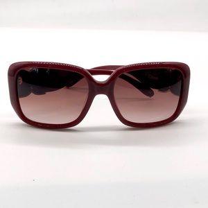 Chloe Square Burgundy CL 2239 Sunglasses